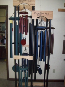 Wind Chimes, Aberdeen MS, Amory Ms, Okolona Mississippi, Monroe County, Houston, MS, Nettleton, Chickasaw County, West Point
