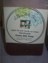 These Goats Milk Soap are made by Rolling Hills Farm. They smell wonderful and makes your skin feel so good after bathing.